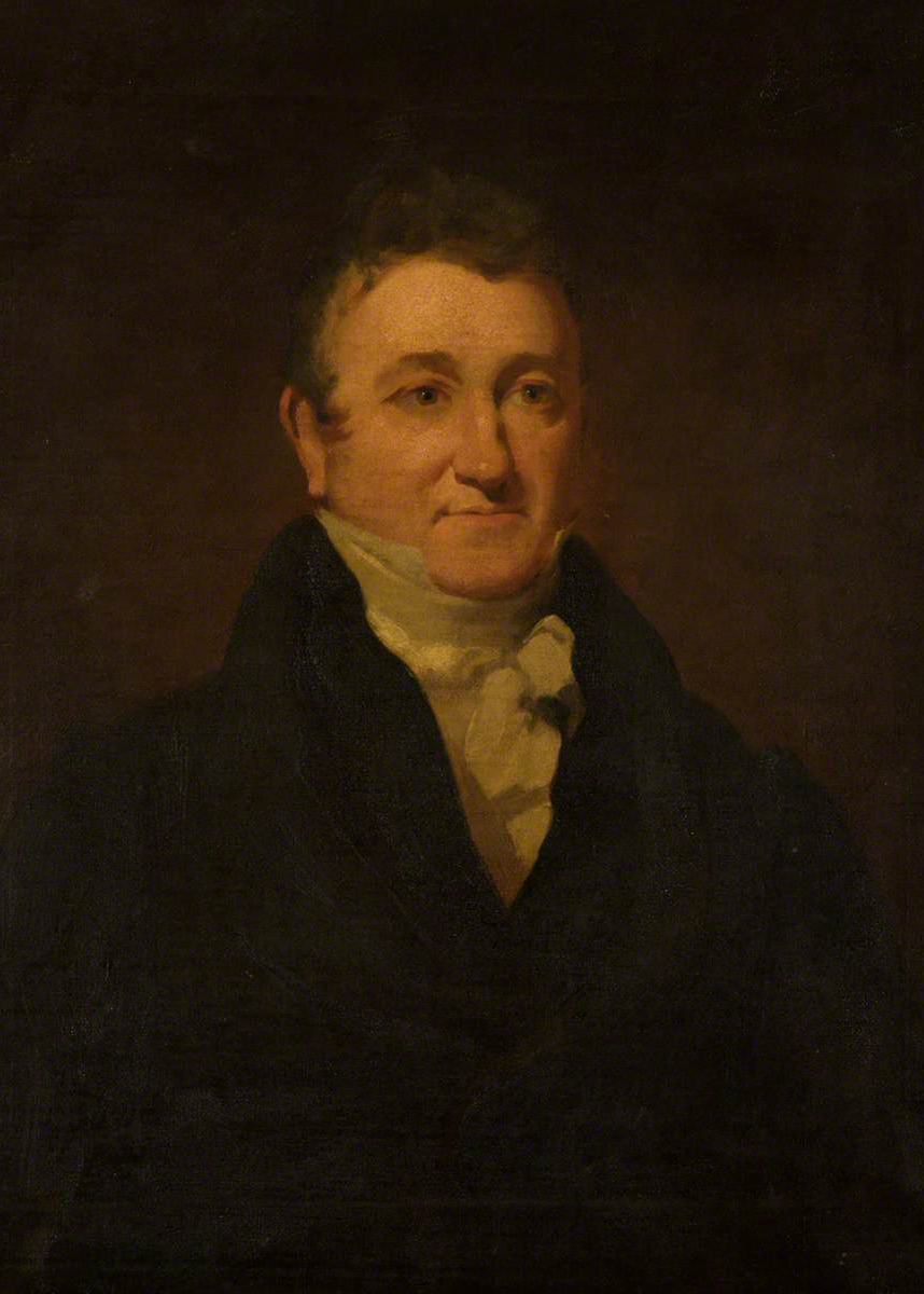 Painting of James Burnes
