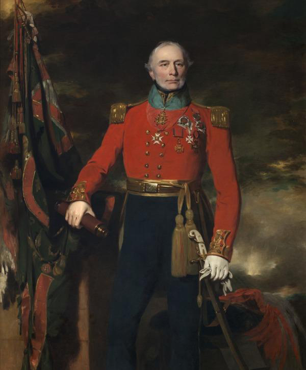 Painting of Sir Neil Douglas